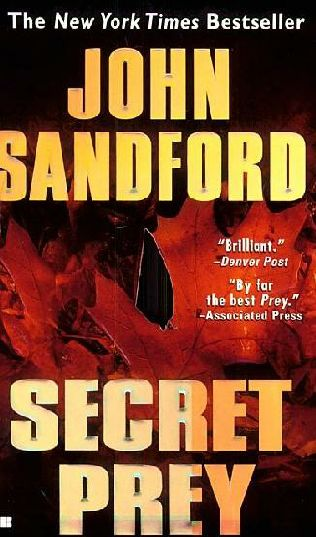 book cover of  Secret Prey   (Lucas Davenport, book 9) by John Sandford