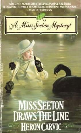 book cover of Miss Seeton Draws the Line