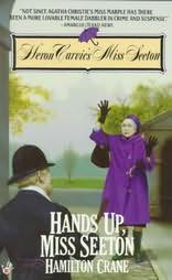 book cover of Hands Up, Miss Seeton
