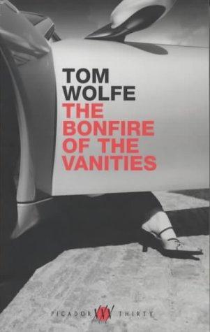 La prestatgeria - Tom Wolfe - La foguera de les vanitats, portada anglesa