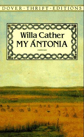 the use of weather in my antonia a novel by willa cather Like jim burden in my antonia the young willa cather saw the nebraska frontier as a place where there was nothing  jewett advised cather to use female narrators in her  ↑ cather, willa willa cather on writing:.