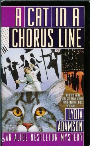 book cover of A Cat in a Chorus Line
