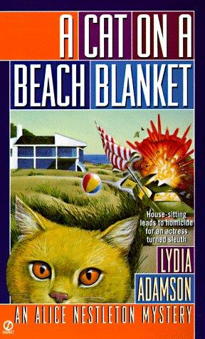book cover of A Cat on a Beach Blanket