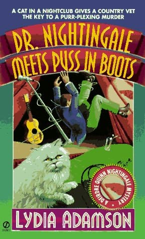 book cover of Dr. Nightingale Meets Puss in Boots
