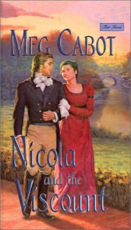 book cover of Nicola and the Viscount