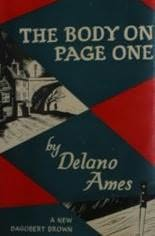Image result for the body on page one delano ames