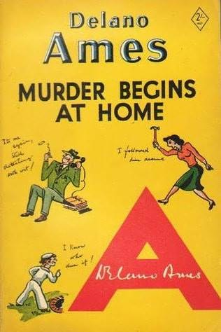 book cover of Murder Begins At Home