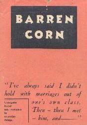 book cover of Barren Corn