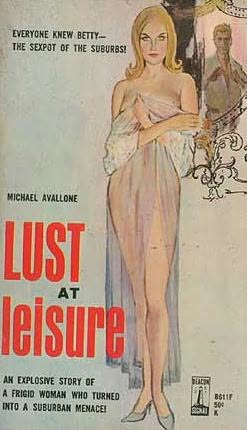 book cover of Lust at Leisure