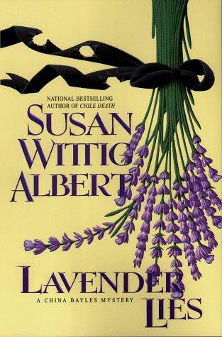 book cover of Lavender Lies