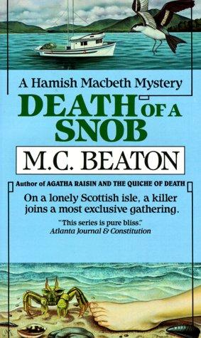 book cover of Death of a Snob