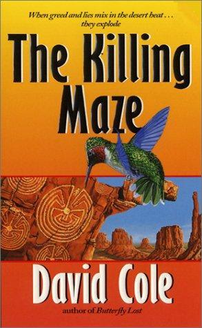 book cover of The Killing Maze