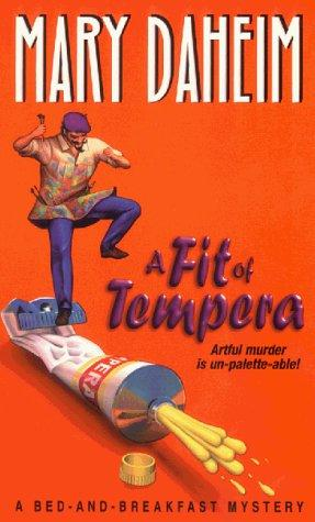 book cover of A Fit of Tempera