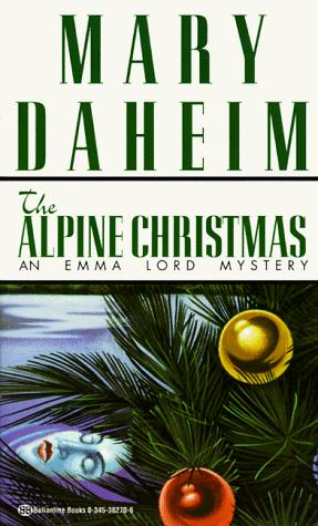 book cover of The Alpine Christmas