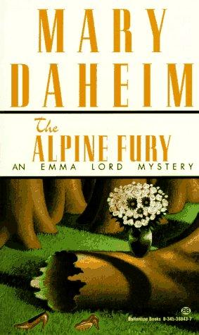 book cover of The Alpine Fury