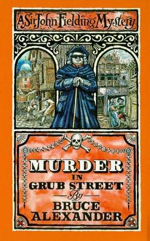 book cover of Murder in Grub Street