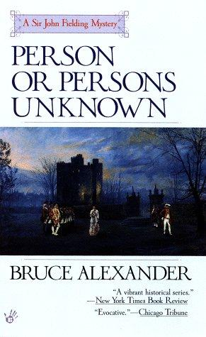 book cover of Person or Persons Unknown