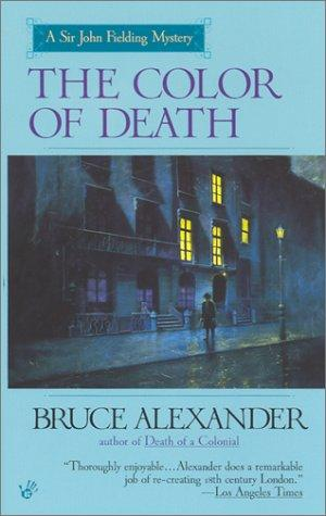 book cover of The Color of Death