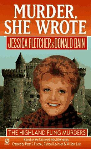 book cover of The Highland Fling Murders