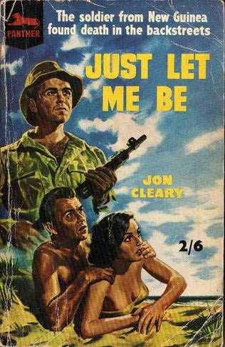 book cover of Just Let Me Be