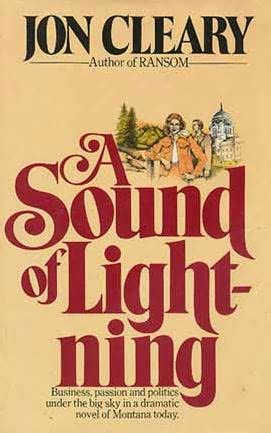 book cover of A Sound of Lightning