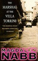 book cover of The Marshal at the Villa Torrini