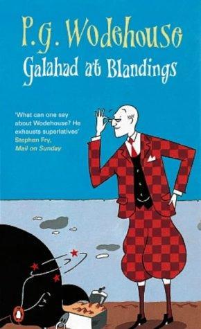 book cover of Galahad at Blandings