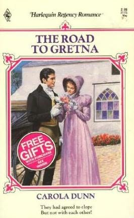 book cover of The Road to Gretna