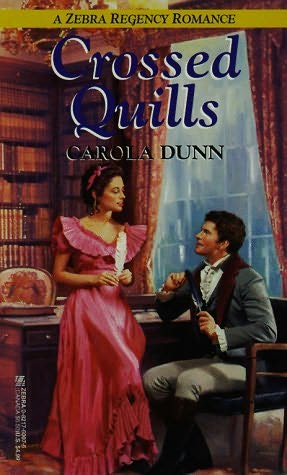 book cover of Crossed Quills