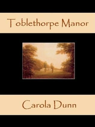 book cover of Toblethorpe Manor