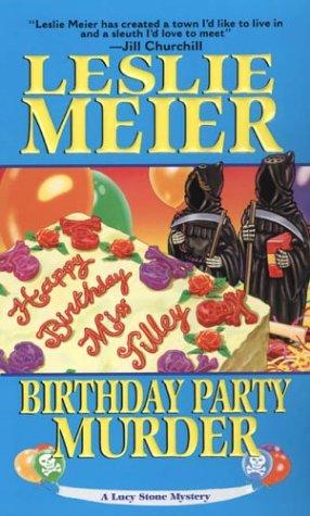 book cover of Birthday Party Murder