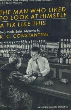 book cover of The Man Who Liked to Look At Himself
