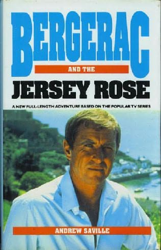 book cover of Bergerac and the Jersey Rose