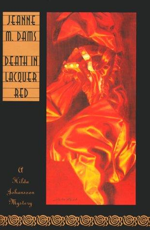 book cover of Death in Lacquer Red
