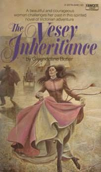 book cover of The Vesey Inheritance