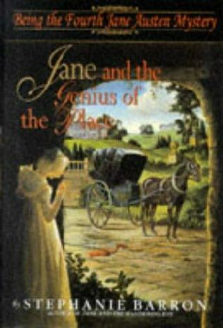 book cover of Jane and the Genius of the Place