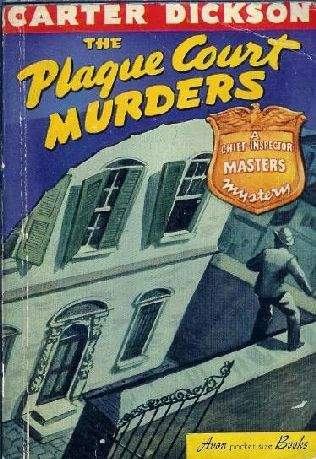 book cover of The Plague Court Murders