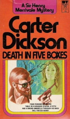 book cover of Death in Five Boxes