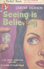 book cover of Seeing is Believing