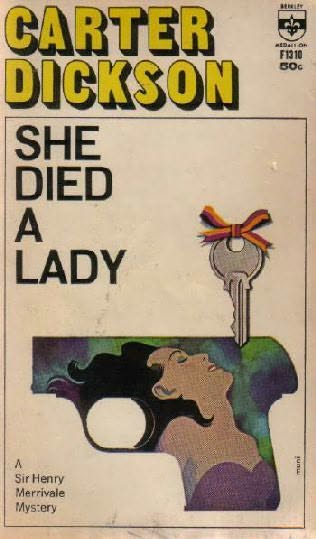 book cover of She Died a Lady