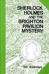 book cover of Sherlock Holmes and the Brighton Pavilion Mystery