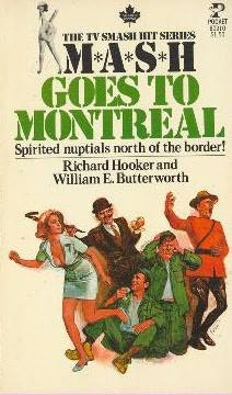 book cover of M*A*S*H Goes To Montreal