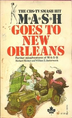 book cover of M*A*S*H Goes To New Orleans