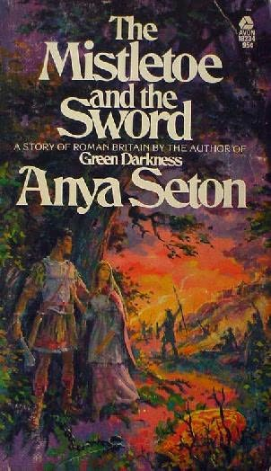 book cover of The Mistletoe and the Sword