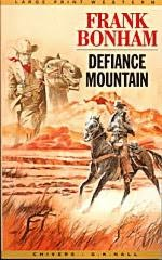 book cover of Defiance Mountain