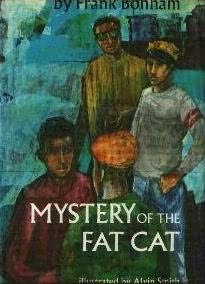 book cover of Mystery of the Fat Cat