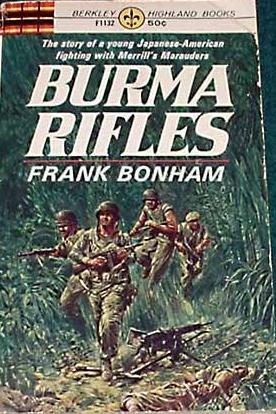 book cover of Burma Rifles