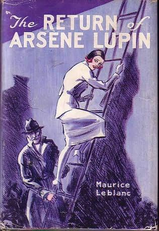 book cover of The Return of Arsene Lupin