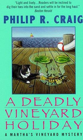 book cover of A Deadly Vineyard Holiday