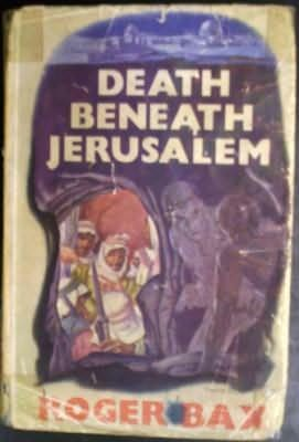 book cover of Death Beneath Jerusalem